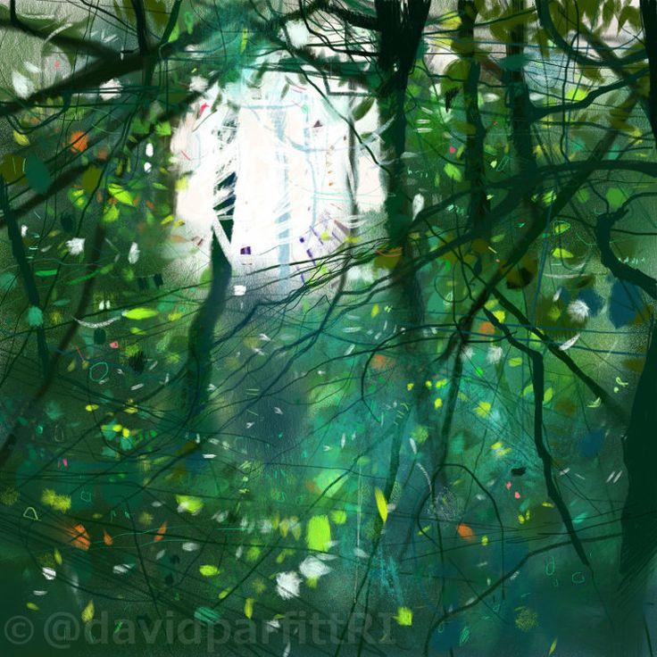iPad sketch using Procreate www.davidparfitt-art.co.uk @davidparfittRI