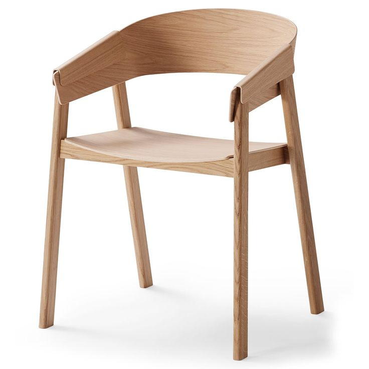 Cover stol, eik i gruppen Møbler / Stoler / Stoler hos ROOM21.no (128201)