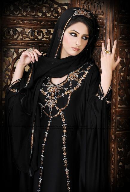 © Artistic Abaya .. فـن الـعبـايـة ™ by Artistic Abaya .. فــن الـعبايـة, Hijab, Arab Fashion, Middle Eastern Fashion, Muslim Fashion, Abaya, Niqaba, Jalabiya, Caftan, Kaftan