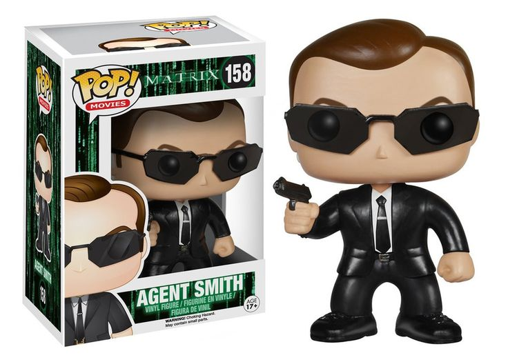 Funko Pop Movies The Matrix Agent Smith