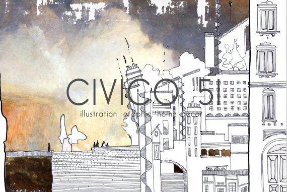 Isidora di CIVICO51 su Etsy