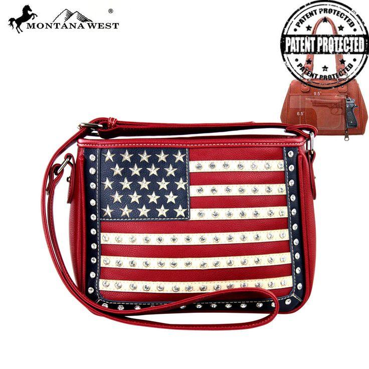 USA Collection Concealed Handgun Satchel, MTWMW378G8085