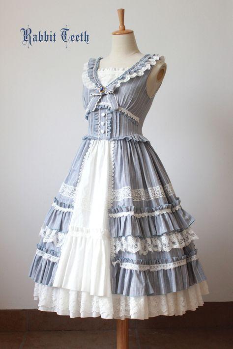 #Leftovers: Fantastic Wind -Swinging Vines- Classic Lolita Jumper Dress