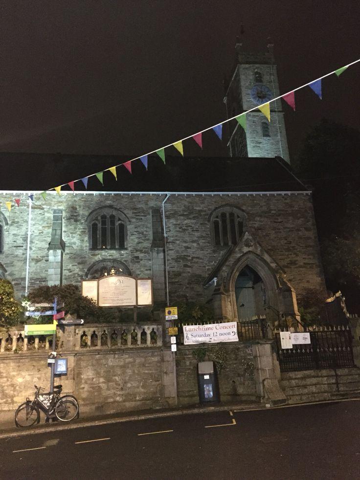 Falmouth church in town