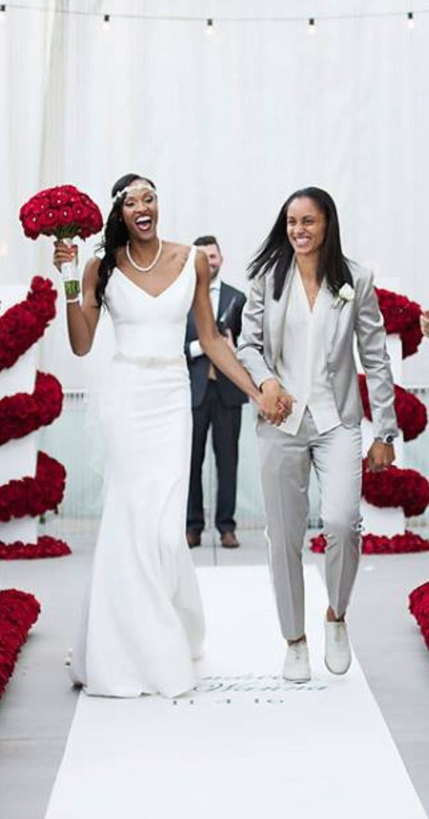 Dewanna Bonner Amp Candice Dupree Wnba Weddings Pinterest Dupree And Bonner