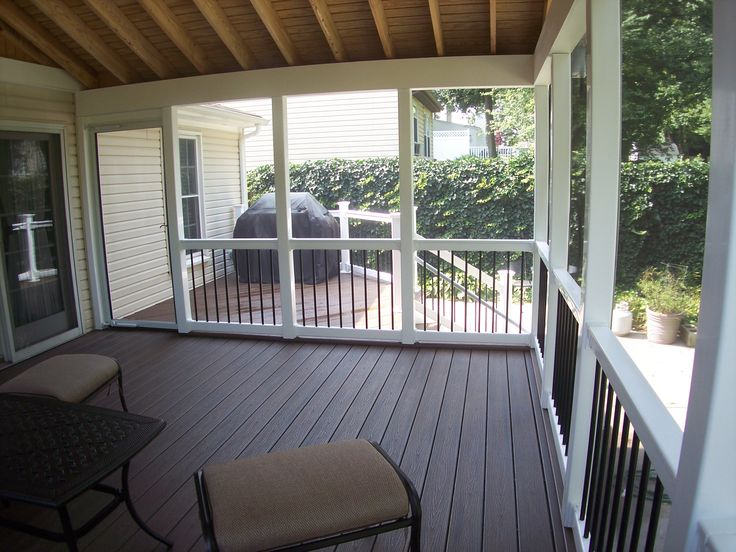 Screened Porch Building Plans