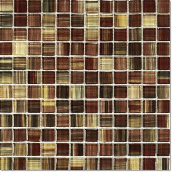 Dell'Arte - mozaiki dekoracyjne Copper Brown 23  (plaster 30x30)