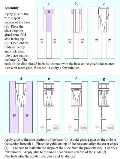 The Scientific Seamstress offers great tutorials with printables. Here, a bias tape maker.