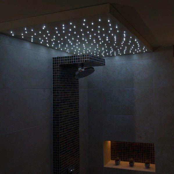 Top 50 Best Shower Lighting Ideas Bathroom Illumination Shower Lighting Shower Ceilings Bathroom Ceiling Light