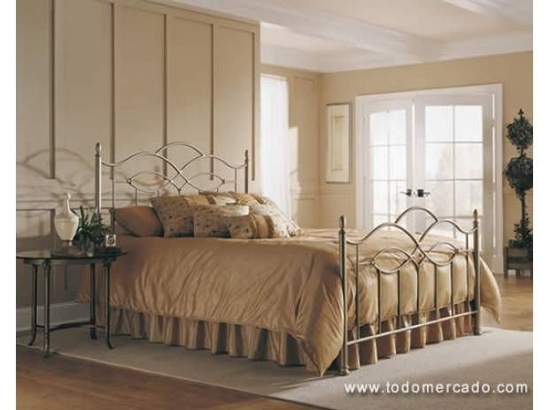 Fotos de camas matrimoniales en fierro forjado casa for Camas matrimoniales