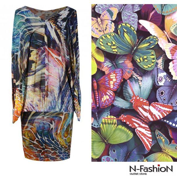 Natura inspiruje! / nature inspires http://bit.ly/LedorsukienkaPaw #butterflies #dress