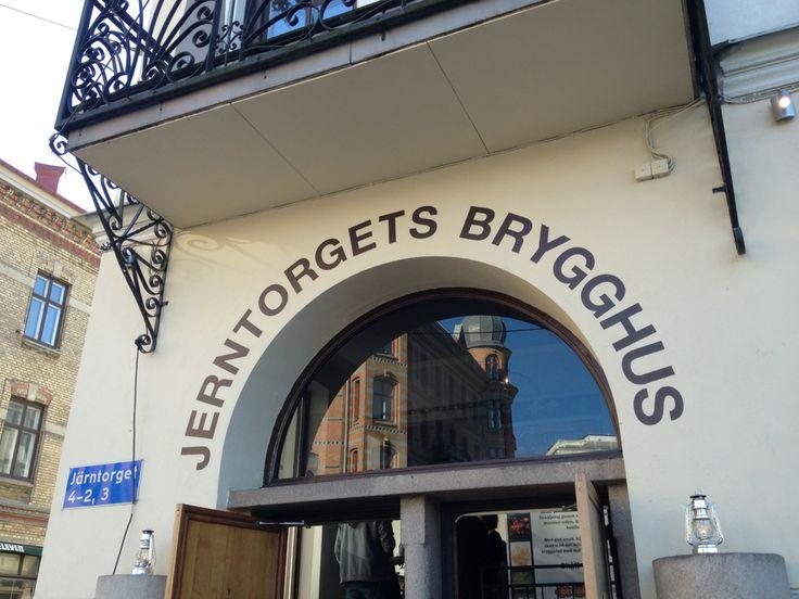 Jerntorgets Brygghus in Göteborg. Har i tillegg til øl veldig god tørr cider!