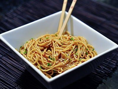Quick and Easy Sesame Noodles