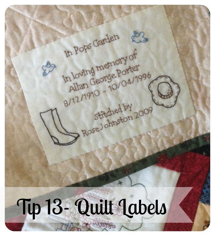 Threadbare Creations- Thursday Tip #13