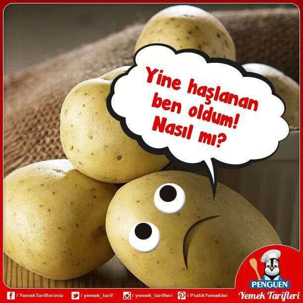 Patates Haşlarken: Patatesleri kabukları ile haşlayın. Haşlandıktan sonra soğuk sudan geçirin, daha kolay soyarsınız. Haşladığınız patateslerin sarı olmasını istiyorsanız haşlama suyuna yarım fincan sirke ya da limon suyu koyun. Haşlama suyuna atacağınız bir tutam tuz patateslerin parçalanmasını önler.