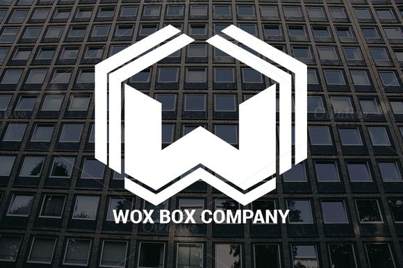 Wox Box Company Logo by Magoo Studio on Creative Market