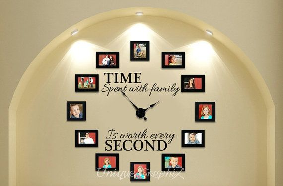 Simple DIY Wall Clock for a big style change