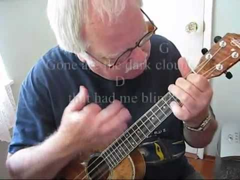 "I CAN SEE CLEARLY NOW for the UKULELE : UKULELE LESSON / TUTORIAL by ""UKULELE MIKE"" - YouTube"