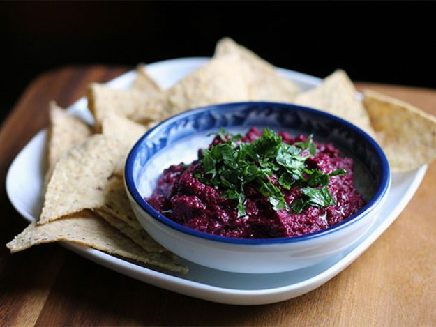 DIY Black Tahini and Beet Hummus Recipe | Serious Eats