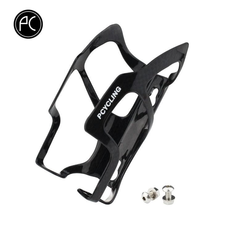 Promo PCycling Bicycle Water Bottle Holder Glossy Black Ultralight UD Carbon Fiber Road Mountain Bike Bottle Cage MTB Parts #PCycling #Bicycle #Water #Bottle #Holder #Glossy #Black #Ultralight #Carbon #Fiber #Road #Mountain #Bike #Cage #Parts