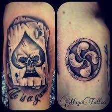 Resultado de imagen de tatuajes lauburu