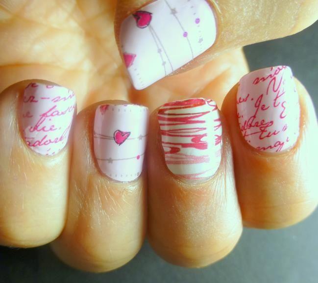 20 Modish and Stylish Valentines Nail Designs 2014 - Be Modish - Be Modish