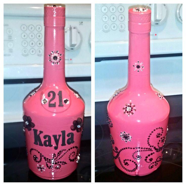 Decorated Alcohol Bottles For Birthday: Best 25+ Hennessy Bottle Ideas On Pinterest