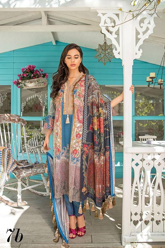 47ebc5c56f Sobia Nazir Winter Collection 2018-19 - PK Vogue#sobianazir #shalwarkameez  #pakistanistyle #pakistanidress #pakistanifashion #winter