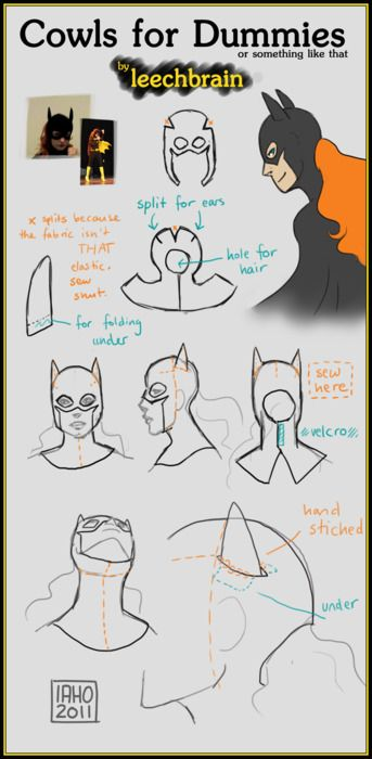 cowls for dummies  Now we all know.   #renratsguide