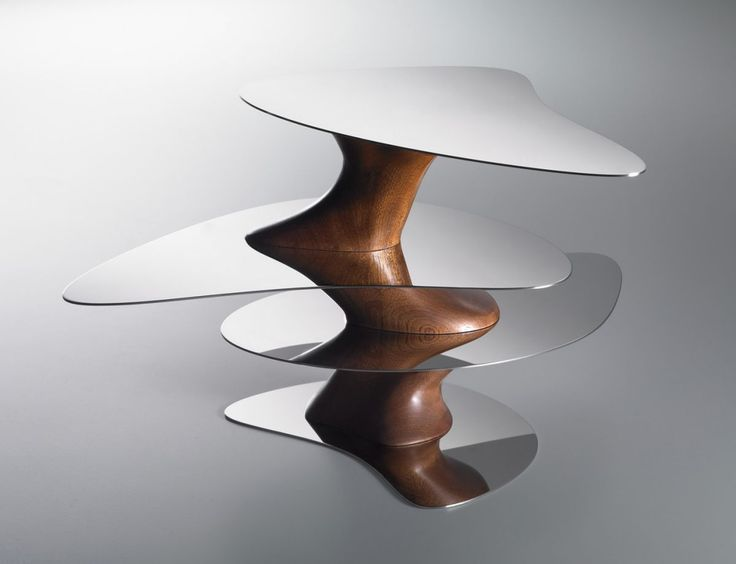 Floating Earth By Yansong Ma // Chinese Architect Ma Yansong Has Designed  The Floating Earth Tray For Alessi. The Tray Has Beautiful Wood Tones  Combined ...