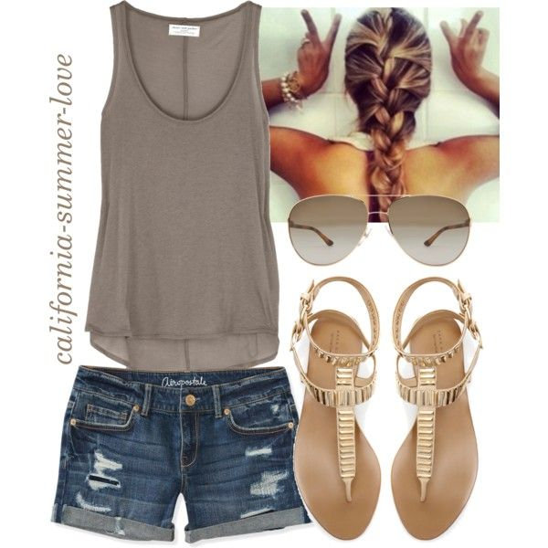 """""""Beach Summer Outfit"""" by california-summer-love on Polyvore"""