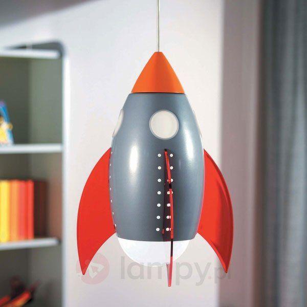 Wisząca lampa do pokoju dziecięcego ROCKY 6500602