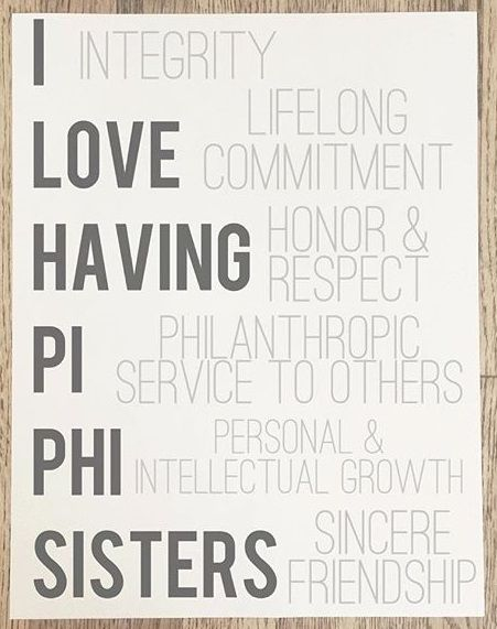 I love having Pi Beta Phi sisters! #piphi #pibetaphi