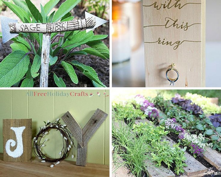 Cool Wood Projects: 31 DIY Pallet Ideas and Easy Wood Crafts | AllFreeHolidayCrafts.com