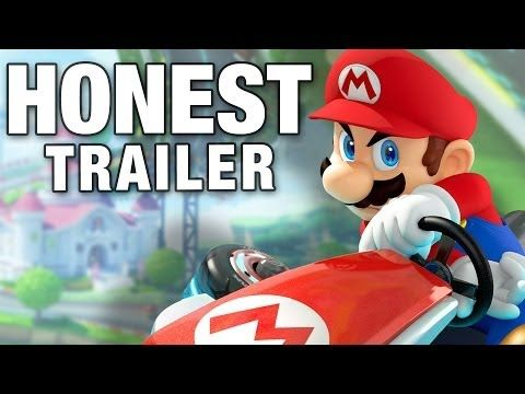 MARIO KART (Honest Game Trailers) - YouTube