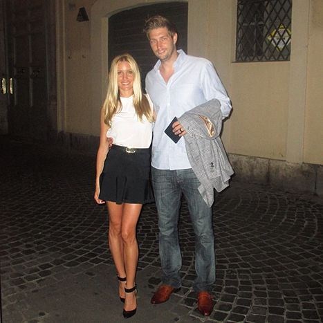 Kristin Cavallari and Jay Cutler on their honeymoon in Italy