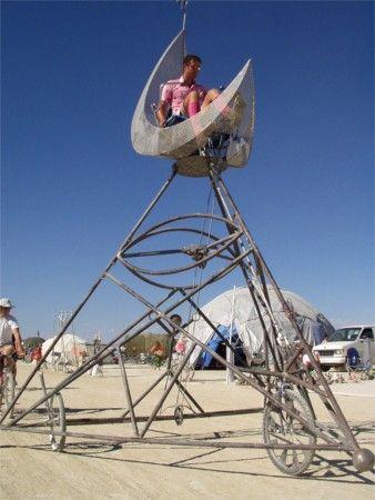Pedal-powered moon trike - 2003