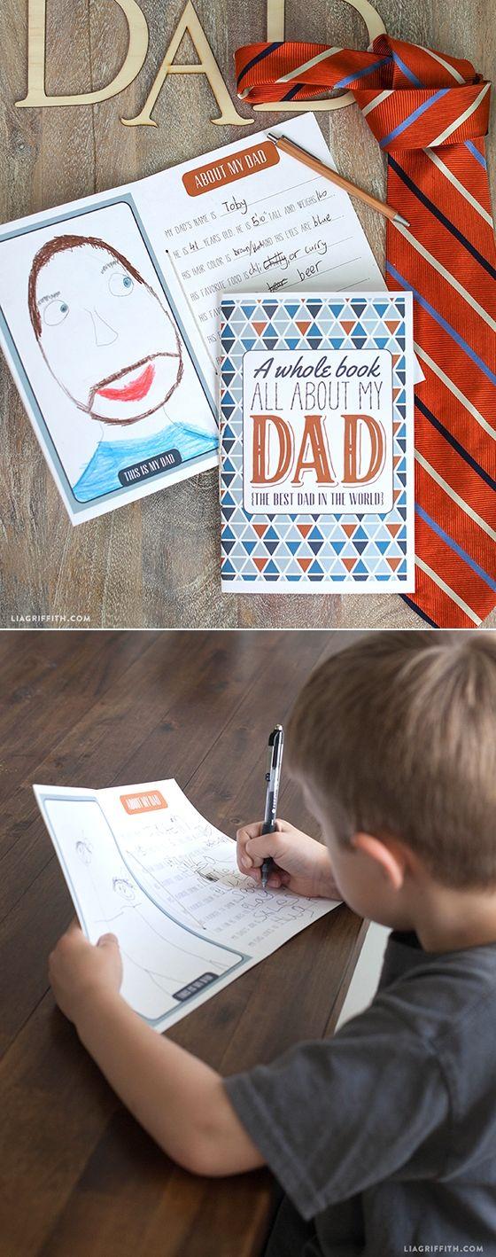 #Fathersday #KidsDIY www.LiaGriffith.com