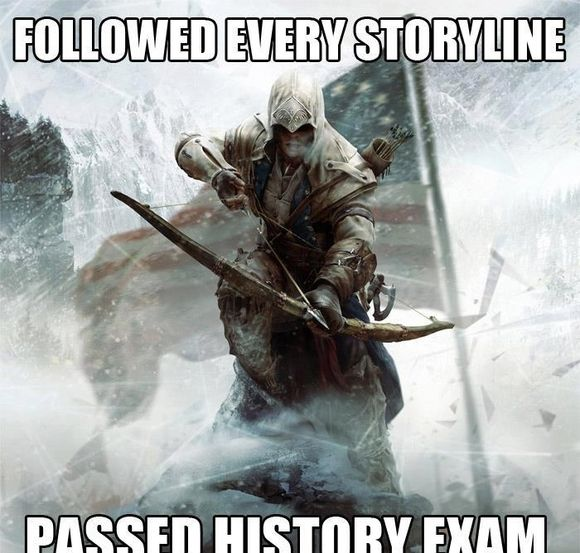 assassins creed funny memes | thank you assassin's creed game