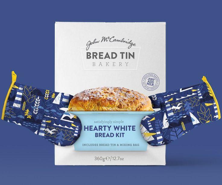 Brandpoint - Bread Tin Bakery (Redesign) #packaging #design #diseño #empaques #embalagens #дизайна #упаковок #パッケージデザイン #emballage #worldpackagingdesign #bestpackagingdesign #worldpackagingdesignsociety