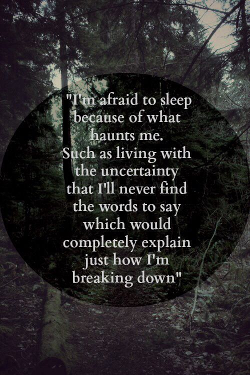 Sleeping Sickness by City and Colour; best band ever #cityandcolour