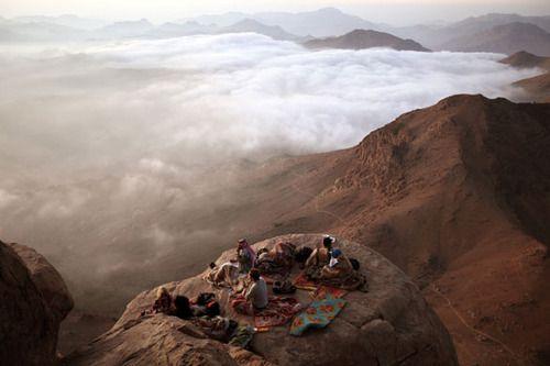: Christian, Desert, Mount Moses, Picnics, Cloud, Landscape Photography, Travel, Places, Rocks