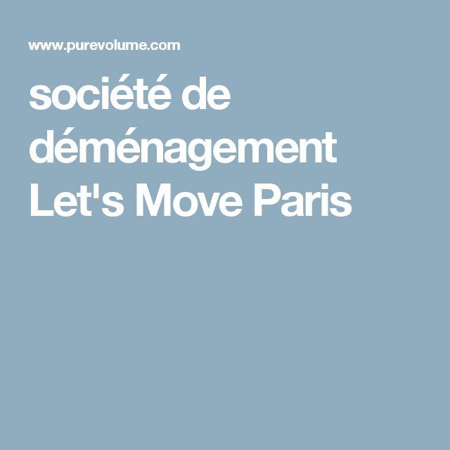 société de déménagement Let's Move Paris