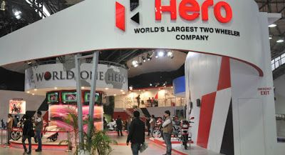 Hero MotoCorp Ltd., the world's largest two-wheeler manufacturer, today reported sales of 479,856 units in the month of November 2016.