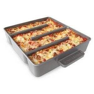 """""""All Edges"""" lasagna pan... I WANT THIS!!"""