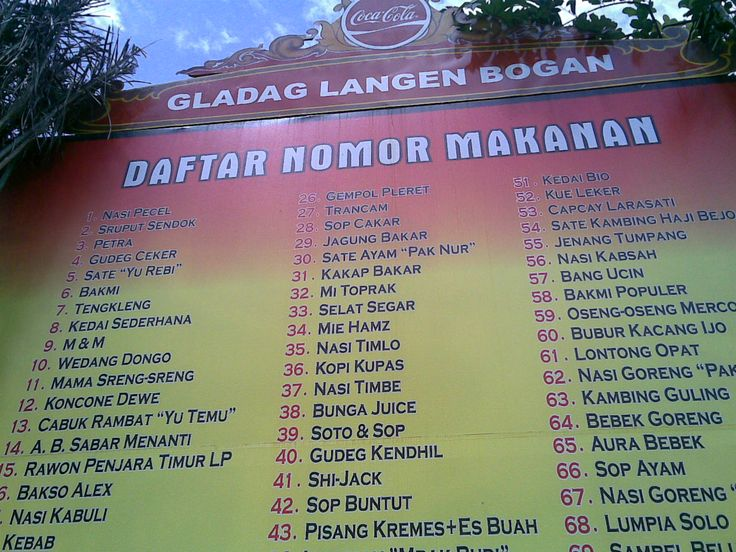 Galabo adalah tempat makan yang unik, bisa untuk sekedar jalan jalan atau memang sengaja ingin mencicipi hidangan khas solo.. Hanya cukup dengan datang ke kawasan Gladag, kita sudah dapat menikmati semua makanan khas Solo yang terkenal sedap. Gladak Langen Bogan...