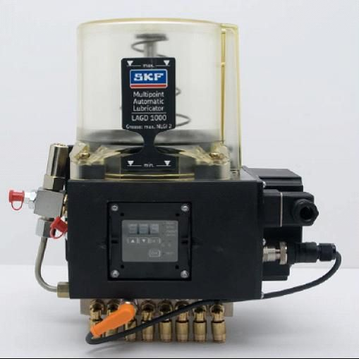 High Pressure Lubricator : The skf multipoint automatic lubricator lagd is a