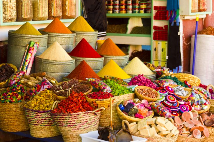 Best Morocco Guide, Photos of Marrakech Souks -