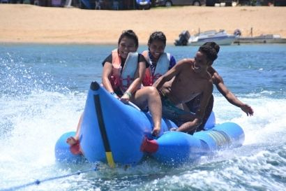 Banana Boat is a type of water sports Bali is favored by domestic and foreign tourists, water sports in Tanjung Benoa that this one does not resemble …