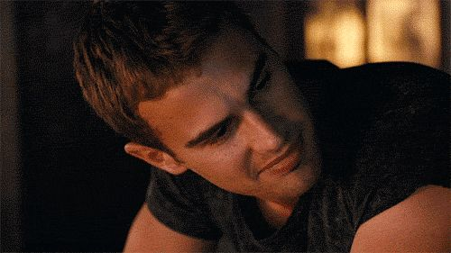 Pin for Later: 28 Reasons Theo James Is Your Favorite Part of the Divergent Series Then things get real sexy.